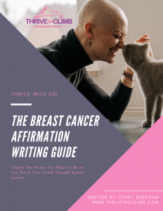 Affirmation Guide Cover For Breast Cancer Thrivers