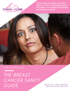 Your Sanity Is Important When You Have Breast Cancer - This Guide Helps! Graphic