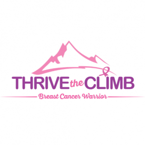 Thrive The Climb Logo - For Women Diagnosed With Breast Cancer
